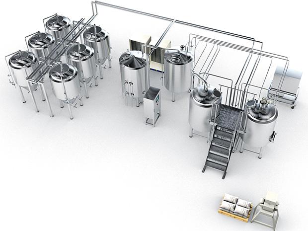 راهکارهای خلاقانه برای شربتخانه و تجهیزات فرایندی نوشیدنیها