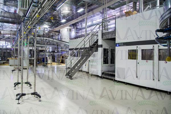 خط تولید مدرن اَسِپتیک KHS-(36000bph)