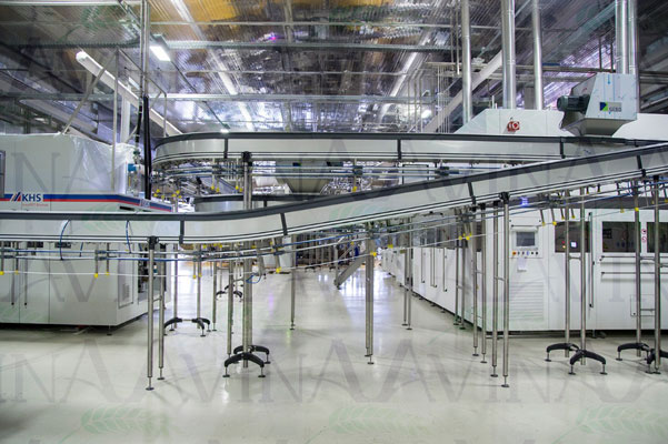 Complete KHS ASEPTIC PET Filling Line with Capacity 24000 B/h